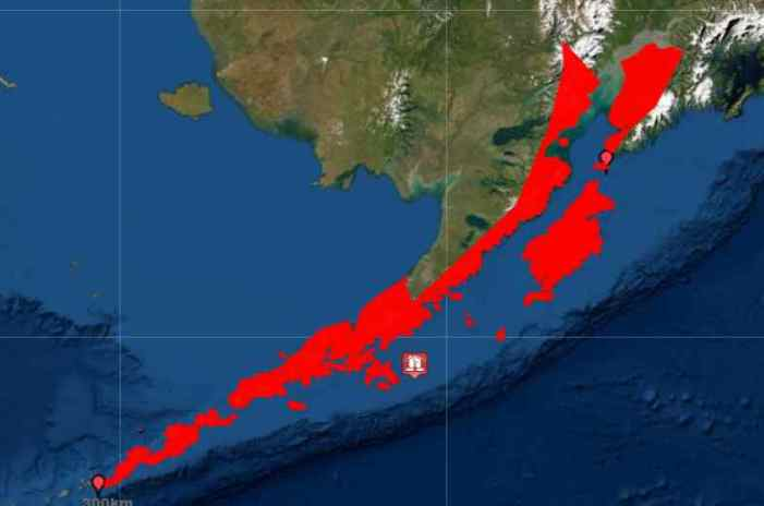 7.8 Magnitude Quake South of Chignik Prompts Widespread Tsunami Warning
