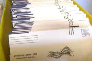 Ballots in mail. Image-VOA/Youtube screenshot