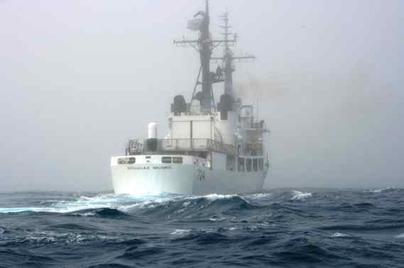 Kodiak-based Coast Guard Cutter Returns Home Following a Two-Month-Long International Fisheries Enforcement Patrol