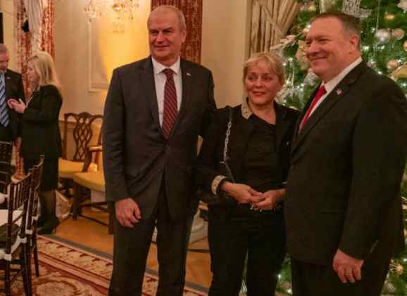 The Pandemic Is Raging Out of Control, So Pompeo Invited 900 People to an Indoor Holiday Party?