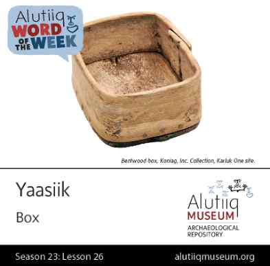 Box-Alutiiq Word of the Week-December 20th