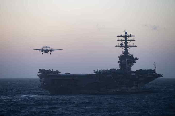 US Reverses Decision to Send Aircraft Carrier Home from Middle East