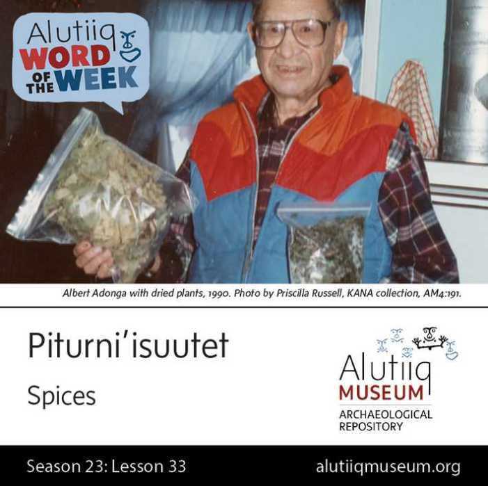 Spices-Alutiiq Museum-February 7th