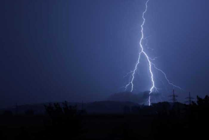 Warming temperatures tripled Arctic lightning strikes over the past decade