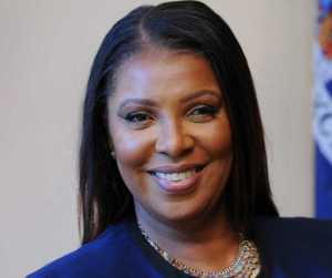 New York State Attorney General Letitia James. Image-NYAG Office