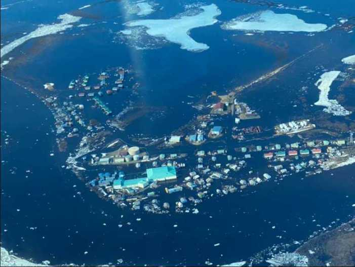 Buckland experiencing ice jam flooding, SEOC coordinating state response
