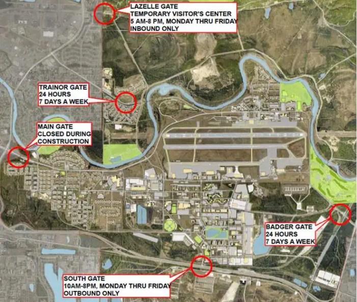Fort Wainwright to close main gate June 2