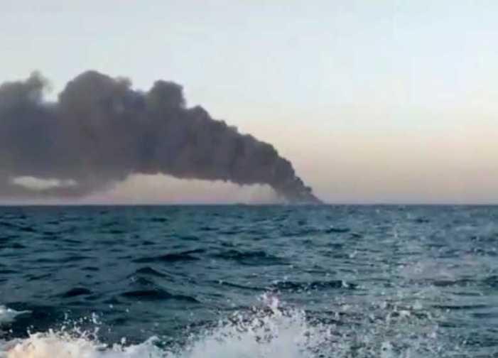 Iranian Warship Sinks in Gulf of Oman