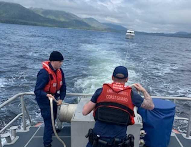 Coast Guard medevacs man from yacht near Ketchikan