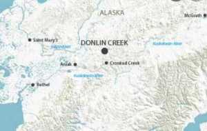 Map showing Donlin Creek Project. Image-SEC.gov