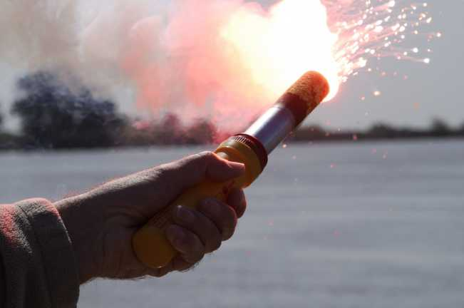 Coast Guard reminds boaters not to use flares as fireworks, report inadvertently discharged flares