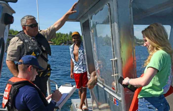 Coast Guard, State and Local Authorities Ramp Up for Heightened BUI Awareness, Enforcement Weekend