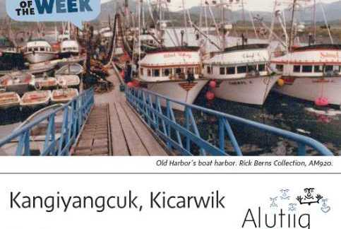 Harbor-Alutiiq Word of the Week-July 18th