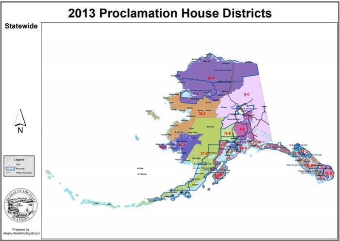 Alaska Redistricting Board Announces Next Steps