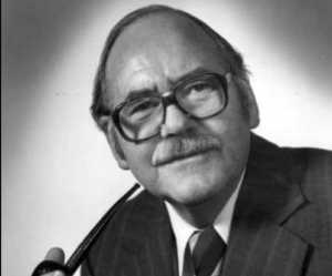Keith Mather, a director of the Geophysical Institute in the 1960s when it welcomed many scientists who were studying things other than the Aurora and the Earth's upper atmosphere. Image- Geophysical Institute