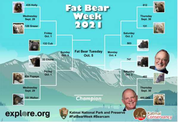 Congressmen Don Young and Tom O'Halleran Initiate Bipartisan Fat Bear Week Bet
