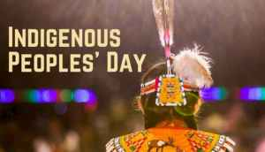 """This Indigenous Peoples' Day Resolution is an opportunity to honor the true nature of our founding and re-focus a federal holiday on the incredible cultural contributions of Native peoples that have been absent from our celebrations until now,"" said Rep. Norma Torres. (Image: via Rep. Ray Lugjan/ @repbenraylujan)"