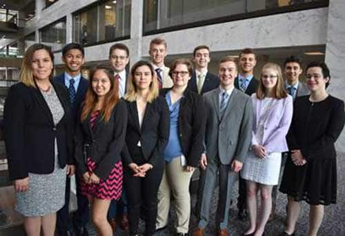 First Session of Summer Interns Arrive in Washington, D.C.