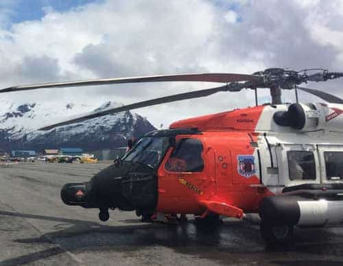 Coast Guard rescues stranded rafter north of Haines, Alaska