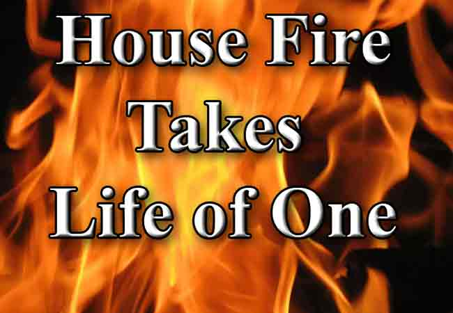 House Fire Claims Life of One in Kake