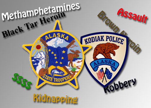 Troopers, Kodiak Police Arrest Three after Kidnapping Report