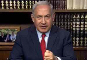 Israeli Prime Minister Benjamin Netanyahu. Screenshot-State of Israel video