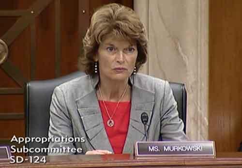 Senator Murkowski Questions Secretary Zinke Over Interior Budget
