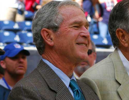 Ex-US President Bush Deplores Country's Political Divisiveness