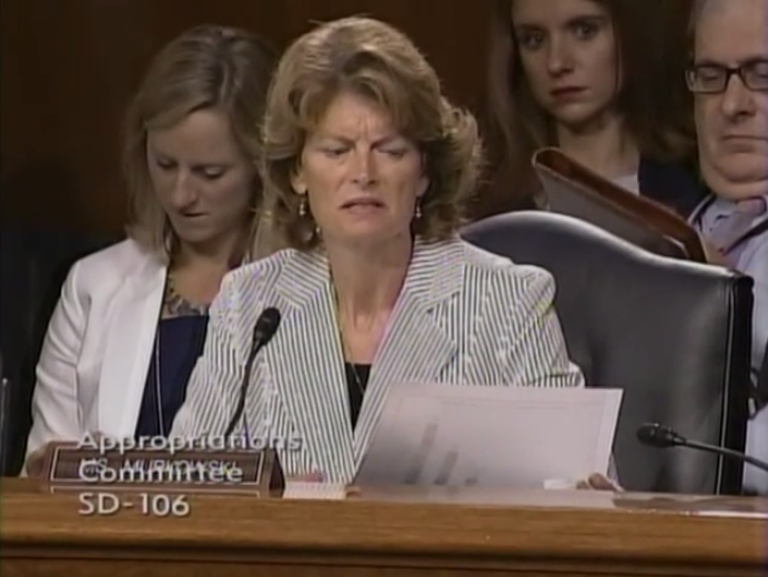 Murkowski Critical of Administration Governing By Crisis