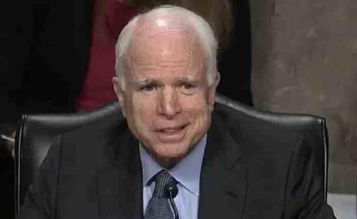 US Senator, War Hero John McCain Has Died