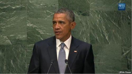 Obama Highlights US-led Diplomatic Efforts at UN