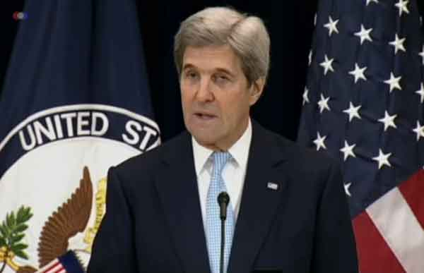 Kerry's Speech Today Draws Criticism from Trump, Israel
