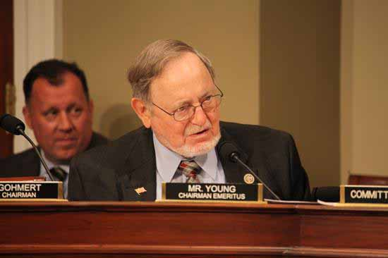 Rep. Young Legislation to Streamline Expansion of Terror Lake Hydro Project Passes Committee