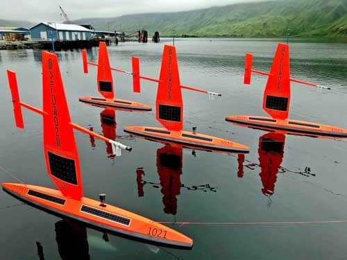 Saildrones Head to the Arctic – Post 1
