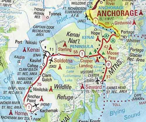 Heavy Traffic Expected on Seward Highway this Weekend