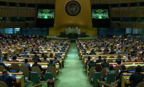UN General Assembly Calls for Protections for Palestinians