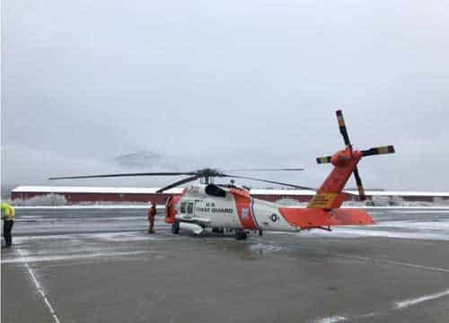Coast Guard Assists AST to Rescue Two Stranded Miners Off Chilkat River, Near Haines, Alaska