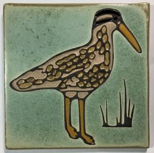 "6"" Curlew Art Tile"
