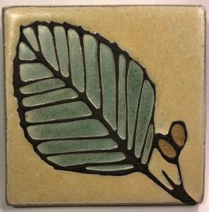 """4"""" Alder Leaf"""