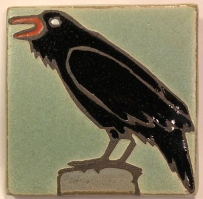 "4"" Raven Facing Left"