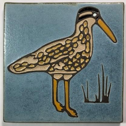 Curlew Art Tile