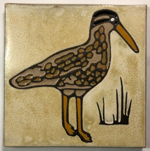 Curlew Art Tile