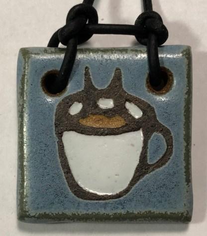 Coffee Cup Pendant