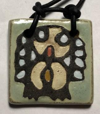 "1-1/2"" Owl Pendant"