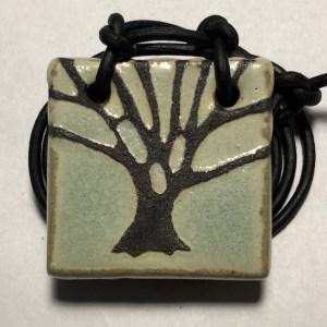 """1-1/2"""" Tree Pendant"""