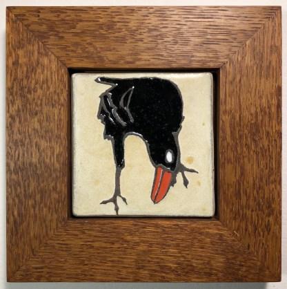 Nutmeg Oak Frame with Raven Tile