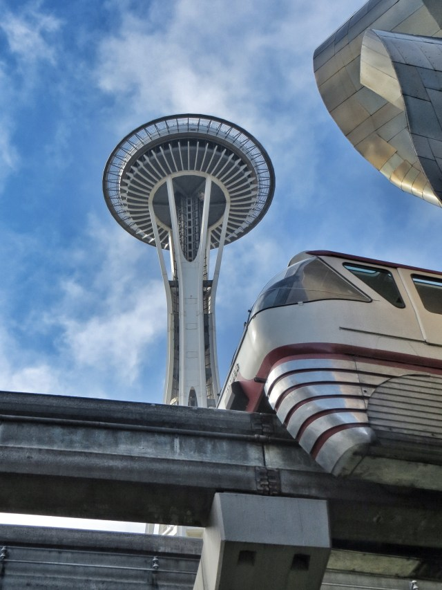 Space Needle, Monorail & EMP Museum