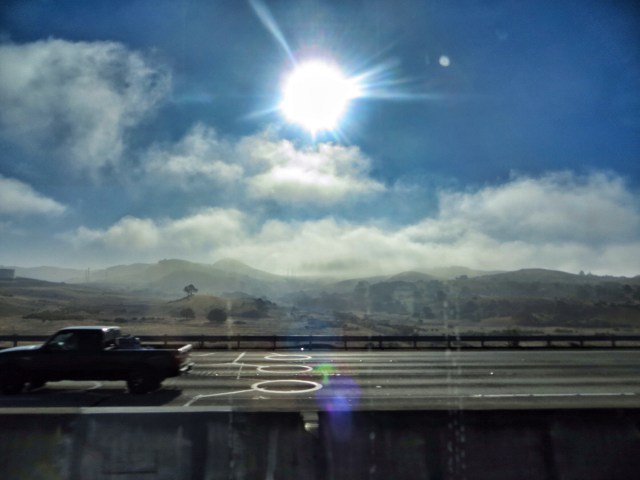 Ja yhtäkkiä olimmekin jo Kaliforniassa