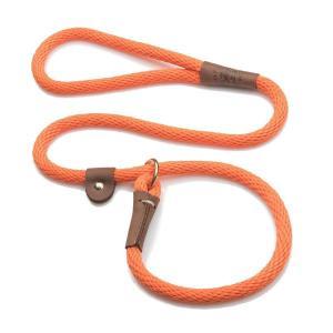 Orange Mendota Slip Lead Alaska Dog Works