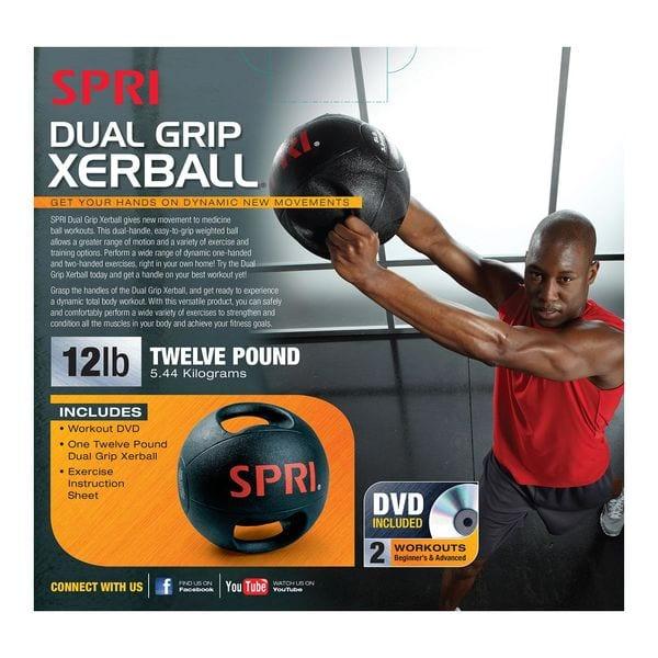 SPRI XERBALL Dual Grip – 12lb
